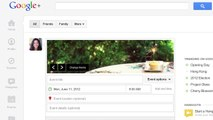 Google+ Events: Make your invitations stand out