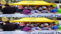 Tour de France 2014.  3D Slide Show.  Riders Parade Leeds.