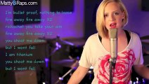 David Guetta - Titanium ft. Sia (MattyBRaps Cover) ft Madilyn Bailey & Jake Coco (Lyrics on Video)