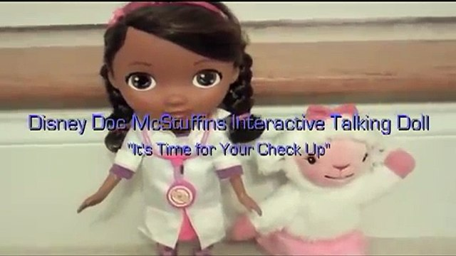 Disney Junior Doc McStuffins Interactive Talking Doll Disney Jr Doc McStuffins + Lambie toy