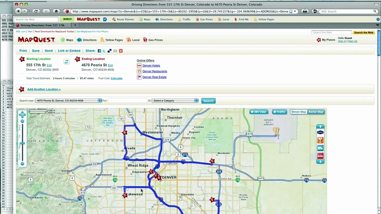 Route Planner Mapquest >> How To Mapquest Route Planner