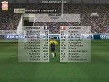 Wimbledon 4 Liverpool 1 (FIFA 99 - Liverpool 98/99) Match 14