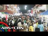 Last-minute shoppers crowd Divisoria night market
