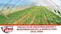 Proyecto Perú Siglo 21 - Proyecto de Industrialización de la Agricultura en el Perú