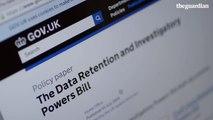 """NSA whistleblower Edward Snowden says UK surveillance law """"defies belief""""   Guardian Interview"""