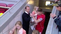 Steven Gerrard se despidió de Anfield