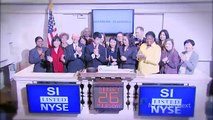 Winners of the 2011 Siemens Competition in Math, Science & Technology rings the NYSE Closing Bell