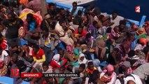 Pas de quotas de migrants pour Valls et Sarkozy