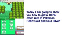 Pokemon Heart Gold and Soul Silver | How To Catch Pokemon Easily | Action Replay Codes