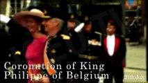 Coronation King Philippe Belgium / Coronacion Rey Felipe Belgica [IGEO.TV]