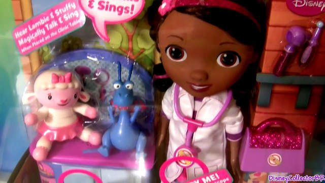 Disney Junior Doc McStuffins Singing Time for a Check-Up Song and Lambie Sings I Feel Better Song