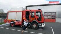 Landerneau. Course à pied et VTT à la caserne des pompiers