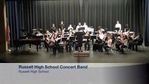 2015 KSHSAA Large Group Music Festival - Russell High School Concert Band