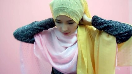 Hijab Tutorial: How to wear bawal with different style