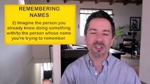 How to Remember Names-Anybody's Name-Memory Tricks for Good Communication Skills