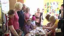 Valsts prezidents sveic BKUS Onkoloģijas nodaļas pacientus Lieldienās 28/03/2013