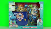 Disney Junior Doc McStuffins Stuffy's Check Up Playset Fun Toy Review & Lambie Tries Cosplay