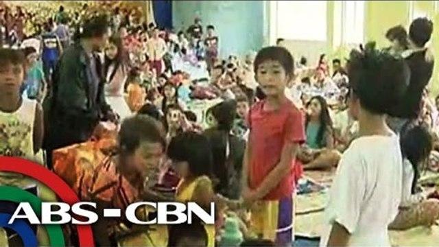 Maraming taga-Samar, lumikas na sa matataas na evacuation centers