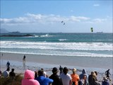 Red Bull King of the Air Kite Surfing Contest, Cape Town 2013 - Highest Kite Surfing Jumps ever