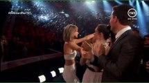 Febre Teen: Taylor recebendo prêmio.
