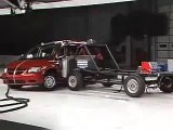 Crash Test 2006 - 2007 Dodge Grand Caravan / Chrysler Town and Country Side Impact W/O Airbags IIHS