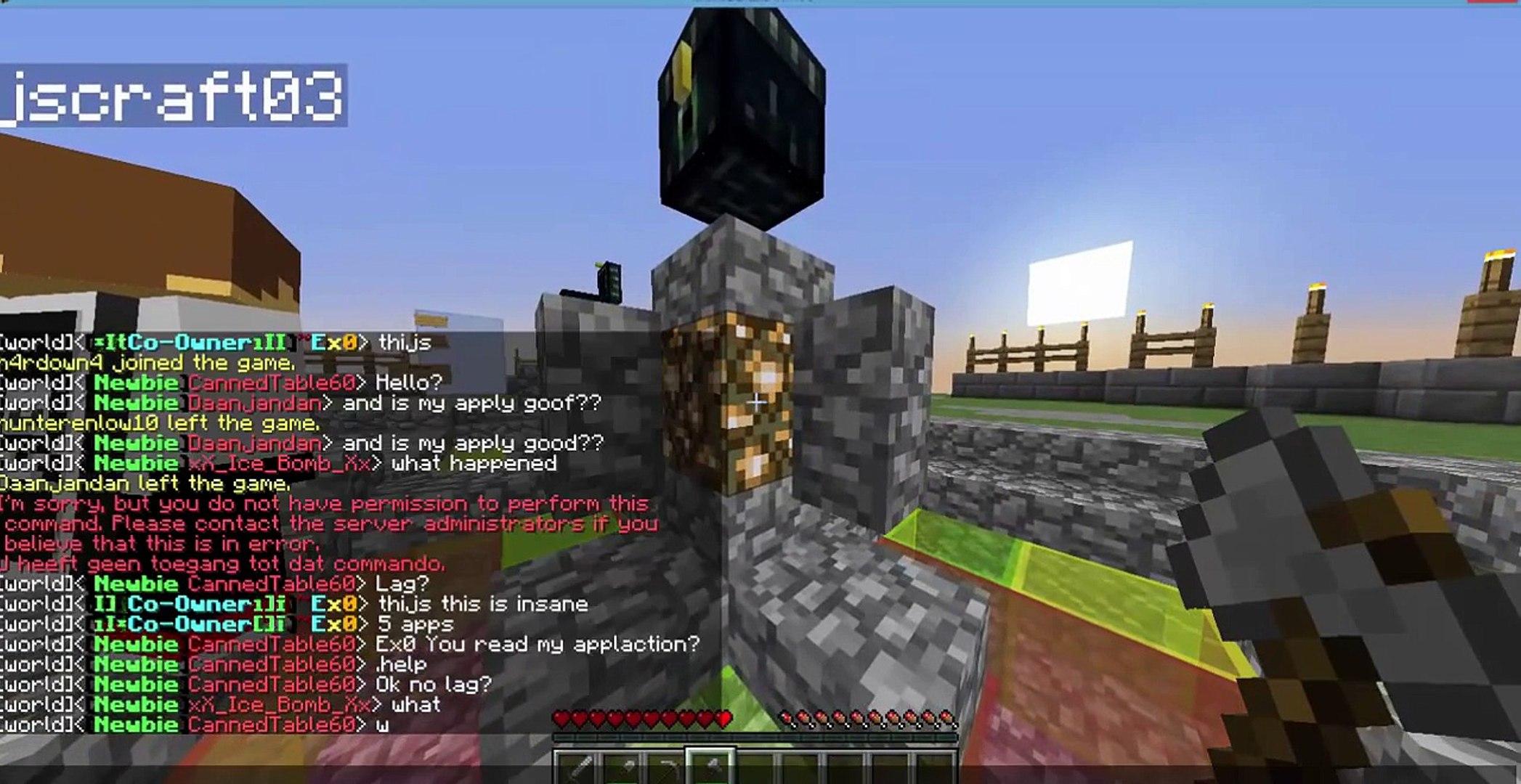 How to ddos a minecraft server