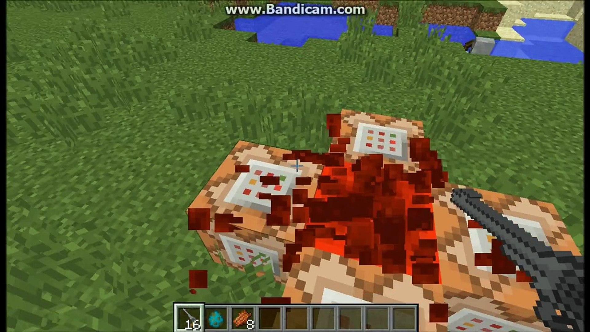 Minecraft: WORKING GUNS with 5 command blocks [1 8 1] (No mods)
