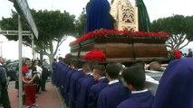 Semana Santa de Málaga. Cuaresma 2013. Jesús ante Anás, Paseo Marítimo El Palo, Málaga (4)