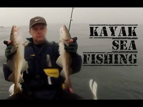 Kayak Fishing – Kayak Sea Fishing for Cod – Skinningrove UK – GoPro