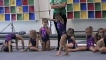 Evolution of a Gymnast- 2 years old-5 years old