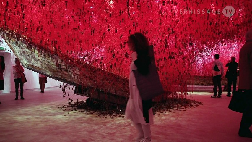 Chiharu Shiota: The Key in the Hand / Japan Pavilion at Venice Art Biennale 2015