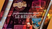 Résumé - J34 - Orléans reçoit Châlons-Reims