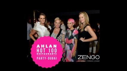 Ahlan Hot 100 Restaurants Dubai Party 2015