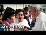 2 Pinoy, nakausap si Pope Francis sa Vatican