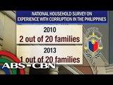 Survey: Bribery incidents in gov't drop
