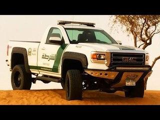 Dubai Police Department Adds 2015 GMC Sierra Pickup To The Fleet