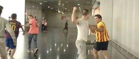 Des supporters du Barça agressés par des supporters du Real Madrid