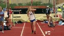 Saut à la perche: Aveugle, Charlotte Brown (17ans), passe 3m50 et remporte une médaille