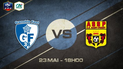 Samedi 23 mai à 18h00 - Grenoble Foot- AS St-Priest - CFA C