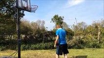 BASKETBALL/TENNIS BALL TRICKSHOTS: Trickshots #3