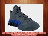 Nike Men's NIKE SHOX AIR HYPERBALLER BASKETBALL SHOES 8.5 (COOL GREY/BLACK/TREASURE BLUE)