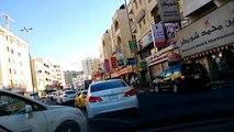 Manama Bahrain driving the streets