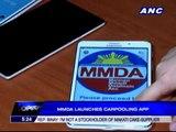 Carpooling app allows MMDA to record trips