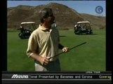 Golf Tip - Fred Couples - On Fairway Wood  With Ball Above Your Feet