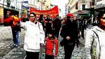 kurden demo in linz, kurdisch, kurd, kurdi