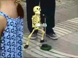 danse squelette