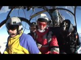 """Extreme Skydiving - Flying Down Swiss """"Virgin"""" - Winter 2007"""