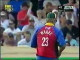Shane Warne imitating other Bowlers in a Charity Match !!