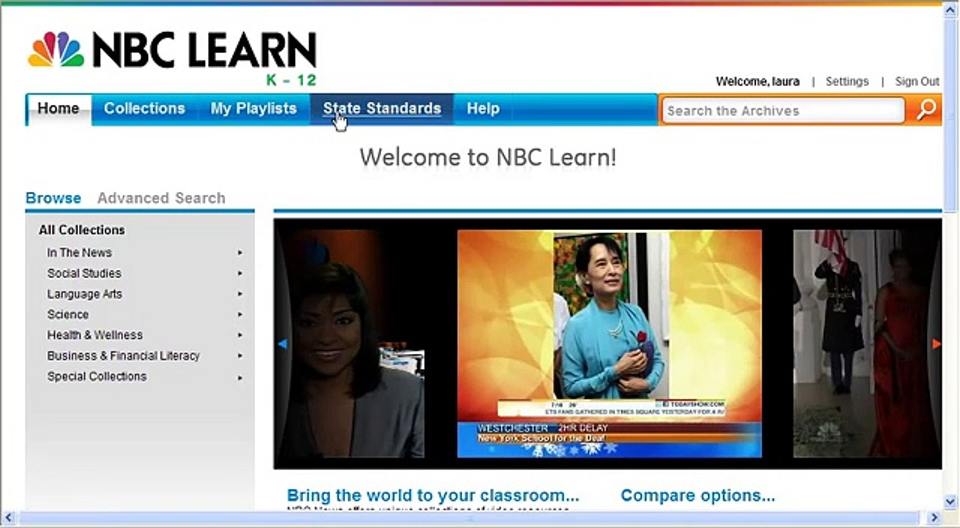 NBC Learn tutorial