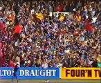 Slim Dusty sings Advance Australia at 1984 VFL Grand Final